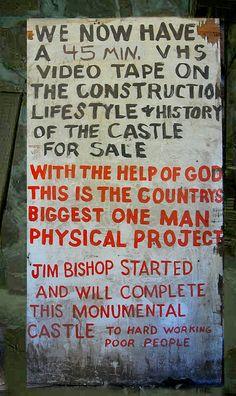 bishop's castle colorado   Bishop Castle sign   Flickr - Photo Sharing!