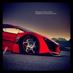 Exceptionnel Lamborghini Sinistro Concept Design By Maher Thebian