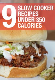 Great recipes UNDER 350 calories that you can cook in your slow cooker!