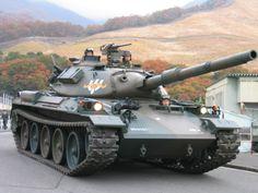 74式戦車 Type 74, War Thunder, Military Armor, Battle Tank, Military Equipment, Panzer, Armored Vehicles, War Machine, Military History