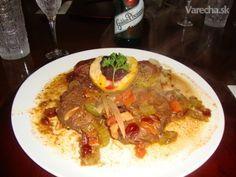 Moja základná marináda na divinu, ale aj iné mäso (fotorecept) - Recept Tacos, Beef, Cooking, Ethnic Recipes, Meat, Kitchen, Cuisine, Koken, Ox