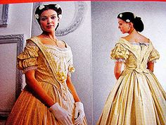 Historical Reenactment Civil War Dress by PatternsFromThePast