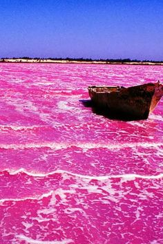 Travel: Lake Hillier Australia ~ this would be amazing to see someday!