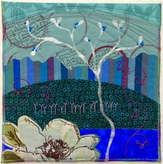 Deborah Boschert's Contribution: When Blue Blooms, 10x10