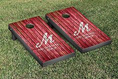 Muhlenberg Mules Cornhole Game Set Weathered Version >>> Continue to the product at the image link.