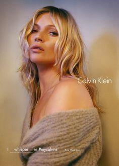 Calvin Klein Fall Winter 2016 Campaign - Kate Moss - Tyrone Lebon