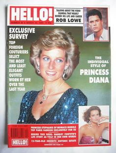 princess diana in palm beach | Hello! magazine - Princess Diana cover (24 March 1990 - Issue 95)