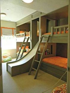 Chutes and Ladders bunkbeds