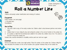 Roll a Number Line