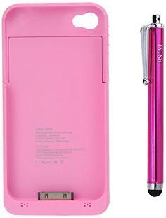 1900 mAh Portable Pink Ultra Slim External Backup Charger Battery Case For Apple iPhone 4 4G & 4S + Free HSINI Stylus Pen HSINI http://www.amazon.com/dp/B00AK574JA/ref=cm_sw_r_pi_dp_QjEhub0DNP2QF