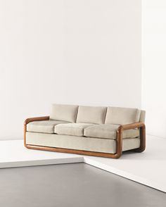 View Sofa by Jean Royère sold at Design on 26 April 2012 London. House Furniture Design, Iron Furniture, Couch Furniture, Home Decor Furniture, Rustic Furniture, Diy Sofa, Sofa Design, Wooden Sofa Set Designs, Unique Sofas