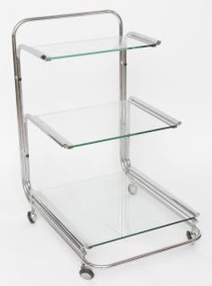 Fontana Arte Bar Cart | From a unique collection of antique and modern carts at http://www.1stdibs.com/furniture/more-furniture-collectibles/carts/