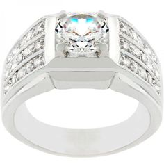 Rock Solid Cubic Zirconia Ring – MNM Gifts