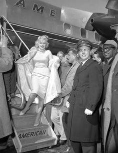 17/03/1959 Arrivée à Chicago - Divine Marilyn Monroe