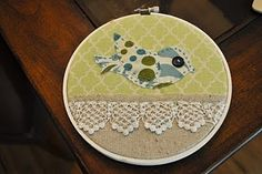 embroidery hoop wall art #diy #embroideryhoop