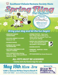 Spring Fling is May 18.  http://www.orlandocanineconnections.com/spring-fling/