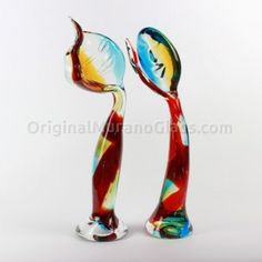 Happiness - Glass Lovers Sculptures