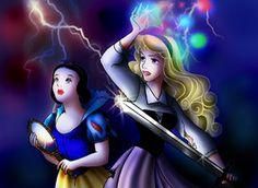 Disney Princess Threatened II by forgotten-ladies