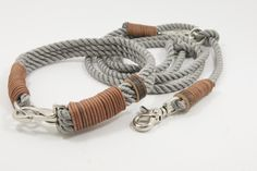 Dog Collar & Lead in contrasting colours - Elbband.de