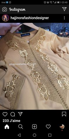Abaya Designs, Embroidery Suits Design, Sewing Lessons, Caftans, Traditional Dresses, Machine Embroidery, Fashion Dresses, Jumpsuit, Caftan Marocain