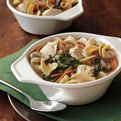 How To Make Rosemary Chicken Noodle Soup Recipe