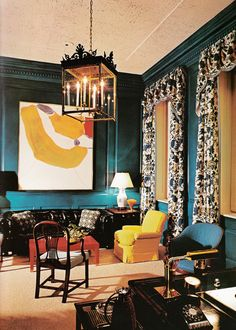 executive office designed by Albert Hadley for the Bank of New York. Decoration – Ancient & Modern, A blog by Thomas Jayne and the Jayne Design Studio