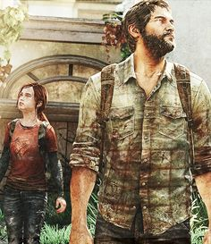 Last of Us - Joel & Ellie (I love Uncharted--always will--but these two made this game the best thing I'll play all year).