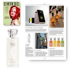 Revista L'Officiel abril 2016. Forever Diamonds Eau de Parfum.  #Revistas #Medios #MaryKay #MaryKayEspaña #Belleza #Fragancia #Perfume #ForeverDiamonds