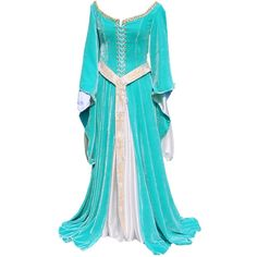 Medieval Dress found on Polyvore