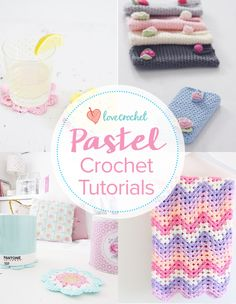 Pinteresting Projects: pretty pins for a pastel home with free patterns and tutorials on LoveCrochet!