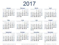 new printable 2017 calendar pdf from vertex42com 2018 calendar excel 2018 calendar template