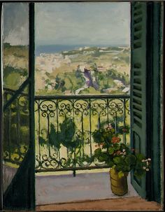 Albert Marquet, View from a Balcony, 1945