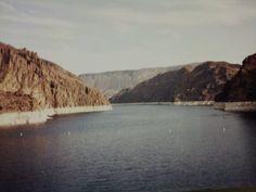Darlene at Lake Mead in Las Vegas, Neveda.