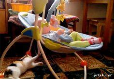 Best baby-sitter, ever!!!!