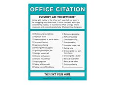 Knock Knock Office Citation Nifty Note #knockknockstuff