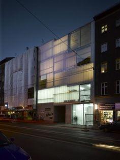 Berlin is Brutiful - Neues Galerie- und Ateliergebäude von Brandlhuber