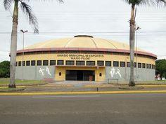 "Ginásio Municipal de Esportes ""Mário Pilon""."