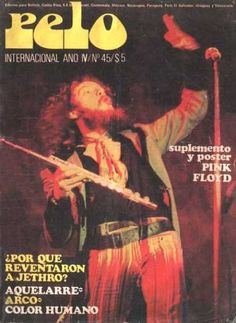 Pelo music magazine (Argentina), December 1973