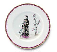 Alberto Pinto Chinoiserie Dinner Plate
