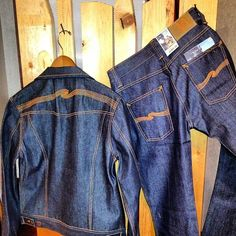 The naked truth.... Stay dry, stay organic.... Nudie Jeans