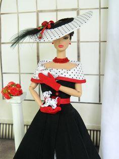:::101::: OOAK fashion Royalty/Silkstone Barbie by Joby Originals