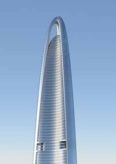 10 tallest buildings under construction or in development around the world - Curbedclockmenumore-arrow : In the race to build vertically, China has a commanding lead Unique Architecture, Chinese Architecture, Architecture Office, Futuristic Architecture, Amazing Buildings, Modern Buildings, Small Backyard Design, Future Buildings, High Rise Building