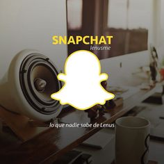 Lo que nadie sabe de Lenus ahora en #snapchat como: lenusme | #Salud #detrasdecamaras