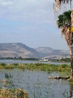 Sea of Galilee where Jesus preached