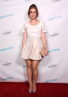 Holland Roden Photos - Actress Holland Roden attends Paul Frank Fashion's Night Out on September 2012 in West Hollywood, California. - Paul Frank Fashion's Night Out Holland Cities, Visit Holland, Teen Wolf, Paul Frank, Celebrity Pictures, Celebrity Style, Lydia Martin, Fashion Night, Beautiful Celebrities