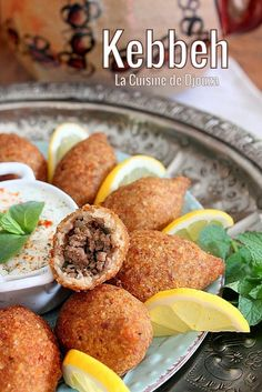 Turkish Recipes 95465 Kebbe (kebbeh) recipe, delicious minced meatballs made from a dough prepared with bulgur, a mezze of Palestinian cuisine Armenian Recipes, Lebanese Recipes, Turkish Recipes, Ethnic Recipes, Diet Recipes, Cooking Recipes, Healthy Recipes, Beignets, Healthy Protein Breakfast