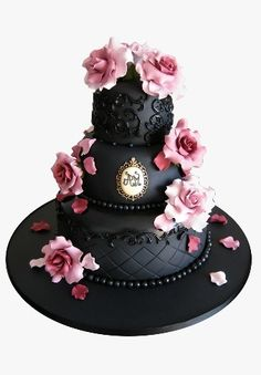 this is beautiful, but that much black icing or gfondant would earn me some very scared phone calls ;)