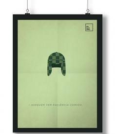 Pôster/Quadro minimalista Chaves
