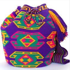 100% Handmade with Love by the indigenous Wayuu for La Guajira dessert in South America.