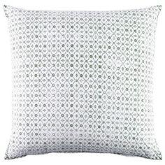 John Robshaw Sag Harbor Indigo Euro Pillow Sham - $68